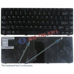 מקלדת למחשב נייד לנובו Lenovo IdeaPad U450 / U450P Laptop Keyboard PK130A91A00 / MP-08G73US-6982 - 1 -