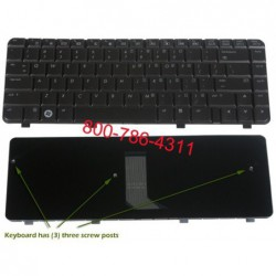 החלפת מקלדת למחשב נייד HP DV4-1000 DV4 Laptop Keyboard 486901-001 NSK-H5501, 9J.N8682.501, PK1303V01X0 - 1 -