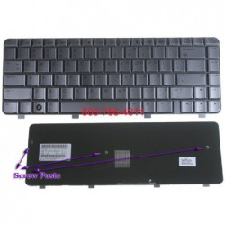 החלפת מקלדת למחשב נייד HP DV4-1000 DV4 Laptop Keyboard 486901-001 NSK-H5501, 9J.N8682.501, PK1303V01X0 - 2 -