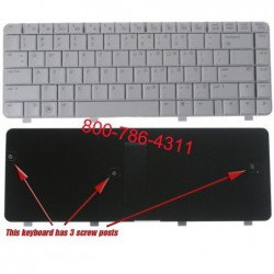 החלפת מקלדת למחשב נייד HP DV4-1000 DV4 Laptop Keyboard 486901-001 NSK-H5501, 9J.N8682.501, PK1303V01X0 - 3 -