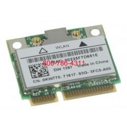 Dell half size mini PCI wireless WiFi כרטיס רשת למחשב נייד דל - 1 -