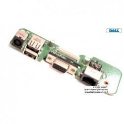 שקע טעינה למחשב נייד דל כולל רשת Dell Inspiron 1545 DC Board Power & USB 48.4AQ03.C11 / 484AQ03C11 - 1 -