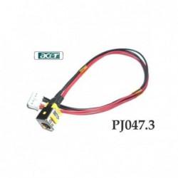 PJ047.3 - 1.65MM Acer Aspire 5335 5735 5735Z שקע טעינה למחשב נייד אייסר - 1 -