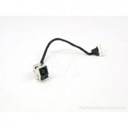 PJ236 - Compaq Presario CQ62 DC Power Jack & Cable שקע טעינה לנייד קומפאק - 1 -