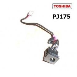PJ175 - Toshiba NB100 DC Power Jack with Cable שקע טעינה לנייד טושיבה - 1 -