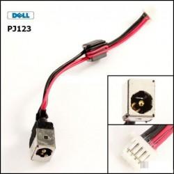 PJ123 - DELL INSPIRON MINI 9 / MINI 10 DC301004Z00 שקע טעינה לנייד דל - 1 -