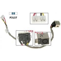 שקע טעינה למחשב נייד PJ137 - HP Pavilion DV7 / G50 Dc Jack with Cable DC301003HOO - 1 -