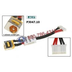 PJ047.10 - Acer Extensa 5420 / 5620 DC JACK שקע טעינה למחשב נייד אייסר - 1 -