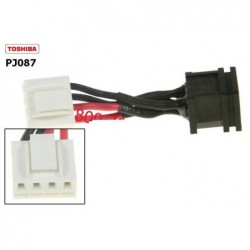 PJ087 - Toshiba Satellite P100 / P105 dc power jack שקע טעינה לנייד טושיבה - 1 -