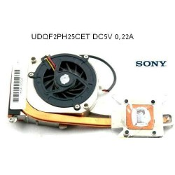 Sony Fs / Sony VAIO VGN-A Coolin Fan UDQF2PH25CET מאוורר למחשב נייד סוני - 1 -