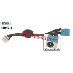 שקע טעינה לנייד אייסר PJ047.5 - Acer Dc Jack 5220 5310 5315 5320 5520 5710 5715 5720 With Cable - 2 -