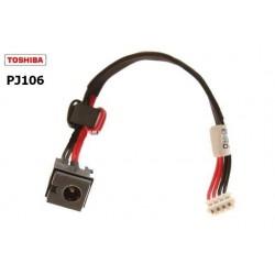 PJ106 - Toshiba Satellite E105 DC Jack with Cable שקע טעינה למחשב נייד טושיבה - 1 -