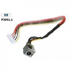 PJ091.1 - HP DV2000 DC-IN Power Jack & Cable שקע טעינה למחשב נייד - 1 -