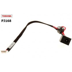 PJ168 - Toshiba Satellite L500 , L505 DC Jack with Cable V000939260 פלאג / שקע טעינה לנייד טושיבה - 1 -