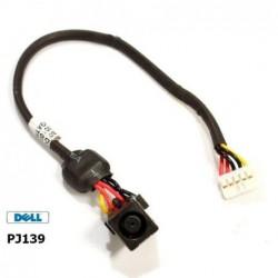 PJ139 - Dell VOSTRO 1710 1720 DC Jack DC301003F00 שקע טעינה למחשב נייד דל - 1 -