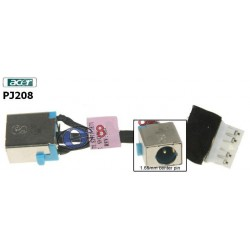 PJ208 - Acer Aspire 7741 , 7551 Dc Jack פלאג שקע טעינה למחשב נייד אייסר - 1 -