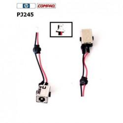 PJ245 - HP Compaq Mini 700 , HP Mini 1000 Dc Jack תיקון והחלפה פלאג טעינה - 1 -
