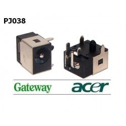 PJ038 - Acer Aspire: 3100, 3690, 4720Z, 5070, 5100, 5610Z Dc Jack שקע טעינה למחשב נייד אייסר - 1 -
