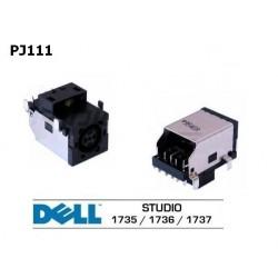 PJ111 - Dell Studio 1735, 1736, 1737, 0NU327, NU327 שקע טעינה למחשב נייד דל - 1 -