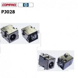 PJ028 - HP Compaq NC6220 NX5000 Presario V1000 Dc jack שקע טעינה למחשב נייד - 1 -