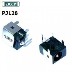 PJ128 Black - Acer Aspire 4220 4520 4720 5600 DC Power Jack שקע טעינה אייסר - 1 -