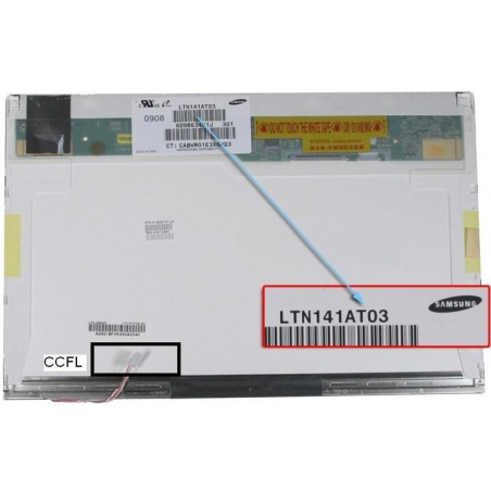 New 14.1 WXGA Glossy LCD CCFL Screen For HP Pavilion DV4-1117NR