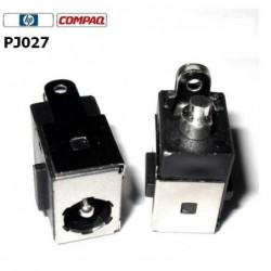 PJ027 - Compaq Presario DV5000 C300 C500 Dc Jack שקע טעינה לנייד ללא כבל - 1 -