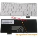 لوحة مفاتيح الكمبيوتر المحمول أسوس أجهزة الكمبيوتر المحمول لوحة المفاتيح F9 أسوس F6، K030462Q1/04GNER1KUS00، V030462FS1