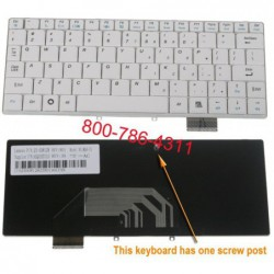 החלפת מקלדת למחשב נייד אסוס Asus F6 / F9 Laptop Keyboard K030462Q1 , 04GNER1KUS00 , V030462FS1