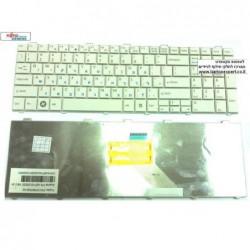 מקלדת למחשב נייד פוגיטסו Fujitsu LifeBook AH530 AH531 NH751 Keyboard CP490711-02 , CP487042-02 - 1 -
