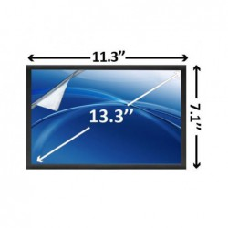 מסך להחלפה במחשב נייד דל לטיטיוד Dell Latitude E4310 Laptop Screen 13.3 LED HD DR347 , 0DR347 - 1 -