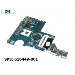 HP G72 / Compaq CQ62 Intel Motherboard 616449-001 לוח למחשב נייד - 1 -
