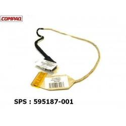 "Compaq Presario CQ62 15.6"" LCD Video Cable 595187-001 כבל מסך למחשב נייד קומפאק - 1 -"