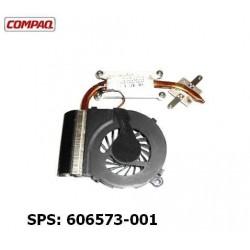 מאוורר למחשב נייד כולל גוף קירור Compaq Presario CQ42 CQ62 / HP G42 G62 Cooling Fan 606573-001 - 1 -