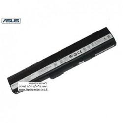 סוללה מקורית 6 תאים לנייד אסוס Asus K52 k52f k52f-a1 k52f-sx051v A32-K52 X52 6 Cell 11.2V 4240mAh - 1 -