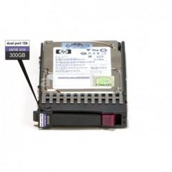 דיסק קשיח סאס לשרת  HP 300GB 6G SAS 10K 2.5 DP HDD 507127-B21 - 1 -