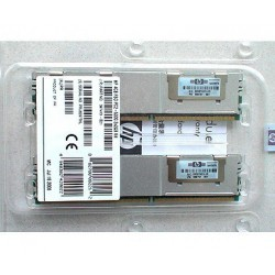 זיכרון לשרת HP 4GB Fully Buffered DIMM PC2-5300 2x2GB DDR2 Memory Kit 397413-B21 - 1 -