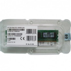 זיכרון לשרת HP 4GB 1x4GB PC3-10600 Registered CAS 9 Dual Rank x4 DRAM Memory Kit 500658-B21 - 1 -