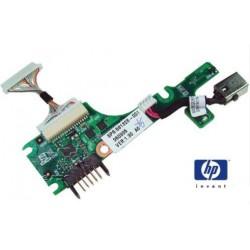 שקע ובקר טעינה סוללה למחשב נייד Compaq Mini 10 Power HP Mini 110 / DC In Board 581326-001 - 1 -