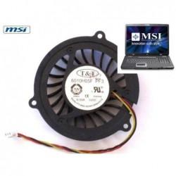 מאוורר למחשב נייד MSI EX700 / GX400 Cooling Fan E32-0900473-TA9 - 1 -