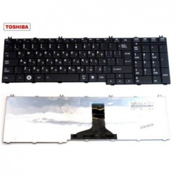 מקלדת למחשב נייד טושיבה Toshiba Satellite Pro Keyboard C650 C660 C650D Black NSK-TN0SC - 1 -