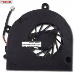 מאוורר למחשב נייד טושיבה Toshiba Satellite L670 L670D C660 C665 C655 C650 Cpu FAN DC2800091N0 / KSB06105HA - 1 -