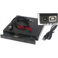 צורב חיצוני למחשב נייד External DVDRW USB - 1 -