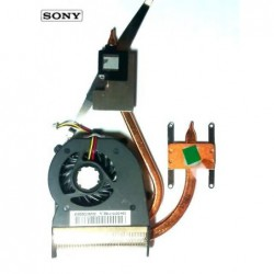 מאוורר למחשב נייד סוני Sony VGN SR Cooling Fan Heatsink UDQFRZH09CF0 - 1 -