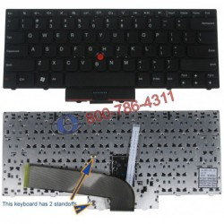 "מקלדת למחשב נייד לנובו Lenovo IBM Thinkpad Edge 14"" 15"" E40 E50 Keyboard US 60Y9597 60Y9669 - 1 -"