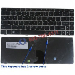 מקלדת למחשב נייד לנובו IBM Lenovo IdeaPad series Z360  25-010707 V-116920BS1-US - 1 -