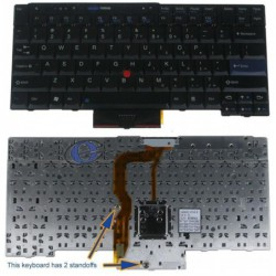 מקלדת למחשב לנובו Lenovo Thinkpad T400S T410 T410I T410S US Keyboard 45N2141, 45N2071 - 1 -