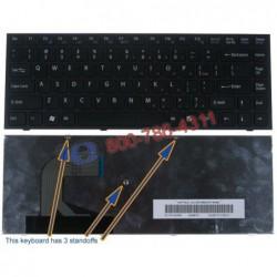 מקלדת למחשב נייד סוני Sony Vpc-S Silver Frame White Nsk-Sa5sq 01 9Z.N3vsq.501 Aegd3u00020 148778121 Keyboard - 1 -