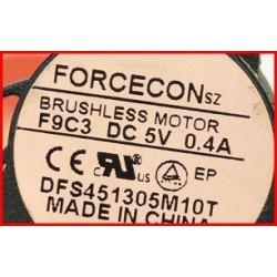 מאוורר להחלפה למחשב נייד אייסר ACER Aspire 5538 / 5534 Cooling Fan DC2800074F0 , DFS451305M10T - 2 -