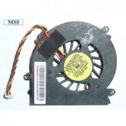 החלפת מאוורר מתחמם למחשב נייד MSI EX300 , PR320 , VR220 DFS451205M10T CPU FAN - 1 -